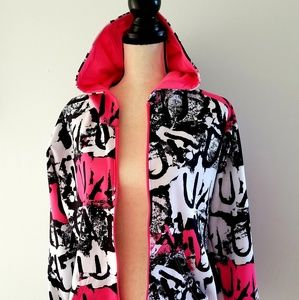 Multi-colored Under Armour hoodie/sports jacket